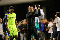 LONDON, ENGLAND - MAY 14:LONDON, ENGLAND - MAY 14:Derby manager, Gary Rowett aplaudes the fans at the end of the game