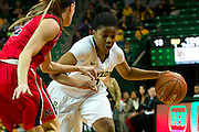 WACO, TX - DECEMBER 18: Niya Johnson #2 of the Baylor Bears brings the ball up court against the Mississippi Lady Rebels on December 18 at the Ferrell Center in Waco, Texas.  (Photo by Cooper Neill) *** Local Caption *** Niya Johnson