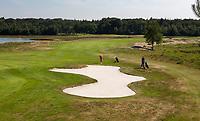 OUDEMIRDUM - Hole 5. Golfclub Gaasterland ligt in Zuidwest-Friesland en heeft een schitterende 9 holes natuurbaan. COPYRIGHT KOEN SUYK