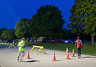 Augusta, New Jersey - Runners compete in races from 72 hours to 12 hours during the 3 Days at the Fair races at the Sussex County Fairgrounds on May 18, 20124.