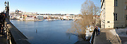 Prague, Czech Republic The Vltava River
