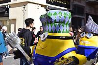 Minions at carnival in Malta
