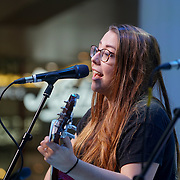 London, UK. 3rd September 2017. Finalist Rose Ash preforms at the Mayor Of London Gigs at Westfield London.