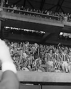 07/09/1969<br /> 09/07/1969<br /> 7 September 1969<br /> All-Ireland Senior Hurling Final: Kilkenny v Cork at Croke Park, Dublin.  <br /> The president of the G.A.A. presenting Kilkenny captain with the cup.