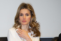 "03.05.2011, Mapfre Foundation in Madrid, ESP, Accreditation ceremony of the 4 th Promotion of ""Honorary Ambassadors Spain Brand"", im Bild Princess Letizia of Spain attends the Accreditation ceremony of the 4 th Promotion of ""Honorary Ambassadors Spain Brand"" at Mapfre Foundation in Madrid. EXPA Pictures © 2011, PhotoCredit: EXPA/ Alterphotos/ ALFAQUI +++++ ATTENTION - OUT OF SPAIN / ESP +++++"