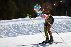 Sandra Ringwald (GER) during the ladies team sprint race at FIS Cross Country World Cup Planica 2016, on January 17, 2016 at Planica, Slovenia. Photo by Ziga Zupan / Sportida