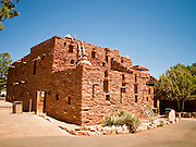 15 AUGUST 2009 -- GRAND CANYON NATIONAL PARK: Hopi House, designed by Mary Colter in the Grand Canyon National Park. Hopi House was the first building designed by Colter to be built in the Park. It is east of El Tovar Hotel. PHOTO BY JACK KURTZ