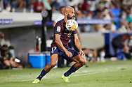 Mikel Rico of SD Huesca in action during the La Liga Smart Bank match that will face SD Huesca and SD Eibar at El Alcoraz on Aug 13, 2021 in Huesca, Spain.