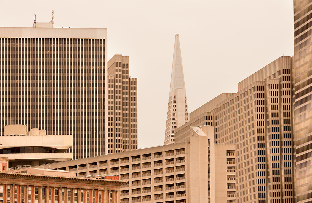 Buildings at Financial District of San Francisco, California, United States