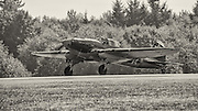IL2M3 Sturmovik of the Flying Heritage Collection preparing for takeoff