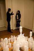 Chen Feng; Angela Yena, Private view: Atlantis by Gayle Chong Kwan, Hosted by Pia Getty, . 29 Thurloe Place, SW7. London. 11 Nov emebr 2008<br /> *** Local Caption *** -DO NOT ARCHIVE-© Copyright Photograph by Dafydd Jones. 248 Clapham Rd. London SW9 0PZ. Tel 0207 820 0771. www.dafjones.com.