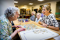 Queen Maxima Visits Gezond Lang Thuis And Haags Ontmoeten Care Institutions -  01 June 2018