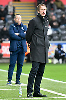 Football - 2018 / 2019 Sky Bet EFL Championship - Swansea City vs. Millwall<br /> <br /> Swansea City manager Graham Potter on the touchline, at The Liberty Stadium.<br /> <br /> COLORSPORT/WINSTON BYNORTH