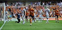 Wolverhampton Wanderers/Fulham Premier League 21.08.11<br />Photo: Tim Parker Fotosports International<br />Kevin Doyle Wolves celebrates 1st goal