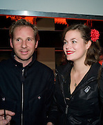 GAWAINE RAINEY; JASMINE GUINNESS, The Macallan Masters of Photography with Rankin. 28 Redchurch St. London. E2.  *** Local Caption *** -DO NOT ARCHIVE-© Copyright Photograph by Dafydd Jones. 248 Clapham Rd. London SW9 0PZ. Tel 0207 820 0771. www.dafjones.com.