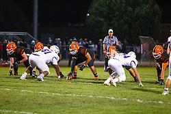 4 October 2019: Bloomington High Raiders at Normal Community Ironmen boys  football, Heyworth Illinois