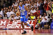 DESCRIZIONE : Campionato 2014/15 Serie A Beko Grissin Bon Reggio Emilia - Dinamo Banco di Sardegna Sassari Finale Playoff Gara7 Scudetto<br /> GIOCATORE : Jeff Brooks<br /> CATEGORIA : Palleggio<br /> SQUADRA : Dinamo Banco di Sardegna Sassari<br /> EVENTO : LegaBasket Serie A Beko 2014/2015<br /> GARA : Grissin Bon Reggio Emilia - Dinamo Banco di Sardegna Sassari Finale Playoff Gara7 Scudetto<br /> DATA : 26/06/2015<br /> SPORT : Pallacanestro <br /> AUTORE : Agenzia Ciamillo-Castoria/L.Canu
