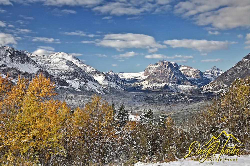 Autumn, Two Medicine Valley, Mt. Sinopah, Mt Glacier National Park