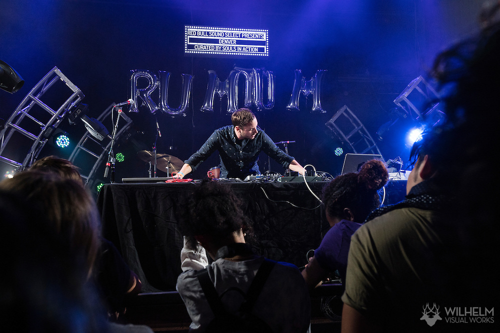 RUMTUM performs at Red Bull Sound Select Presents Denver at the Gothic Theater in Denver, CO, USA, on 30 September, 2016.