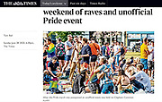 The Times newspaper cutting© Guy Bell, guy@gbphotos.com, 07771786236