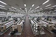 Montes Claros_MG, Brasil.<br /> <br /> Teares no setor de tecelagem da fabrica de tecidos em Montes Claros, Minas Gerais.<br /> <br /> Looms in the weaving sector of the textile factory in Montes Claros, Minas Gerais.<br /> <br /> Foto: LEO DRUMOND / NITRO