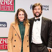 NLD/Amsterdam/20161111 - Oremière film De Zevende Hemel, Kaja Wolffers en partner Kaya de la Rambelje