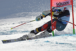 27.10.2013, Rettenbach Ferner, Soelden, AUT, FIS Weltcup, Ski Alpin, Riesenslalom, Herren, 1. Durchgang, im Bild Bode Miller from The USA // Bode Miller from The USA in action during 1st run of mens Giant Slalom of the FIS Ski Alpine Worldcup opening at the Rettenbachferner in Soelden, Austria on 2012/10/27. EXPA Pictures © 2013, PhotoCredit: EXPA/ Mitchell Gunn<br /> <br /> *****ATTENTION - OUT of GBR*****