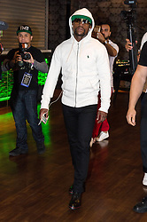 July 14, 2017 - London, London, UK - Professional boxer Floyd Mayweather takes part in a press conference at Wembley SSE on the final leg of their World Tour in London. (Credit Image: © Ray Tang via ZUMA Wire)