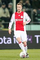 Fotball<br /> Italia<br /> Foto: Inside/Digitalsport<br /> NORWAY ONLY<br /> <br /> Rasmus Lindgren (Ajax)<br /> <br /> 19.02.2009<br /> Uefa Cup 2008/2009<br /> Fiorentina v Ajax (0-1)
