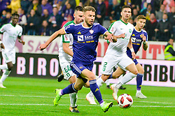 football match between NK Maribor and NK Olimpija Ljubljana in 14th Round of Prva liga Telekom Slovenije 2018/19, on October 27, 2018 in Ljudski vrt , Maribor, Slovenia. Photo by Mario Horvat / Sportida