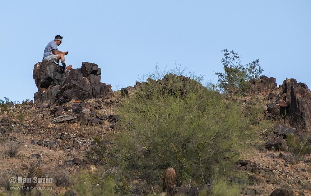 Dreamy Draw Park, part of the Phoenix Mountains Preserve near Phoenix, Arizona