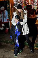 Elle Macpherson the Hyde Park Winter Wonderland VIP opening on November 21, 2013 in London, England,