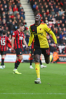 Football - 2019 / 2020 Premier League - AFC Bournemouth vs. Watford<br /> <br /> Abdoulaye Doucoure of Watford celebrates scoring the opening goal at the Vitality Stadium (Dean Court) Bournemouth <br /> <br /> COLORSPORT/SHAUN BOGGUST