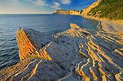 Shoreline along the  Atlantic Ocean <br /> Forillon National Park<br /> Quebec<br /> Canada