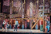 Lin Manuel Miranda & Christopher Jackson witness High School Students at the Richard Rodgers Theater