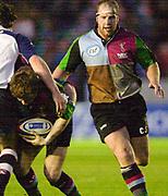 Twickenham, England. Zurich Premiership.  Sun's Ceri JONES, Harlequins vs Rotherham Titans The Stoop Surrey. 16.04.2004. [Mandatory Credit: Peter Spurrier/Intersport-images].