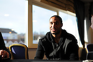 Ashley Williams of swansea city.Swansea city training and media day at the  Liberty stadium in Swansea, South Wales on Thursday 21st Feb 2013. The team are training ahead of their forthcoming Capital one cup final on Sunday. pic by Andrew Orchard, Andrew Orchard sports photography,