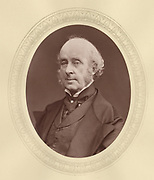 'James Talbot, 4th Baron Talbot de Malahide (1805-1883) c1876, Anglo-Iriish Liberal politician and amateur aechaeologist.'