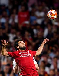 June 2, 2019 - Madrid, Spain - 190602 Mohamed Salah of Liverpool during the UEFA Champions League final between Tottenham and Liverpool on June 2, 2019 in Madrid..Photo: Petter Arvidson / BILDBYRÃ…N / kod PA / 92302 (Credit Image: © Petter Arvidson/Bildbyran via ZUMA Press)