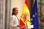 062921 Princess Elena de Borbon attends Prizes of the 30th 'Children's and Youth Painting Competitio