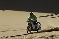 AUTO - DAKAR 2006 - <br /> PHOTO :  FRANCOIS FLAMAND / DIGITALSPORT<br /> MOTO - PAL ANDERS ULLEVALSETER (NOR) / KTM 660 PÅL ANDERS ULLEVÅLSETER<br /> RALLYE - ACTION