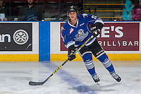 KELOWNA, CANADA - DECEMBER 30: Brayden Pachal #22 of the Victoria Royals warms up against the Kelowna Rockets on December 30, 2016 at Prospera Place in Kelowna, British Columbia, Canada.  (Photo by Marissa Baecker/Shoot the Breeze)  *** Local Caption ***