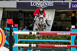 Fuchs Martin, SUI, Silver Shine<br /> Longines FEI Jumping Nations Cup Final<br /> Challenge Cup - Barcelona 2019<br /> © Dirk Caremans<br />  06/10/2019