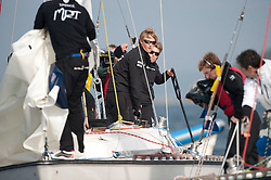 Richard vs Mirsky. Danish Open 2010, Bornholm, Denmark. World Match Racing Tour. photo: Loris von Siebenthal - WMRT