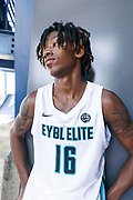 THOUSAND OAKS, CA Sunday, August 12, 2018 - Nike Basketball Academy. CJ Walker 2019 #16 of Orlando Christian Prep poses for a portrait after the game. <br /> NOTE TO USER: Mandatory Copyright Notice: Photo by Jon Lopez / Nike