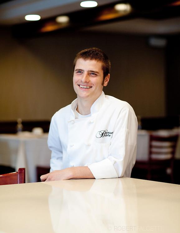 The Litchfield Inn / Bantam Bistro Executive Chef Jonathan Gyles..(Photo by Robert Falcetti)..  ... .