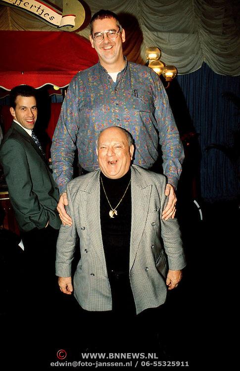 Nieuwjaarsreceptie Strengholt 1997, Rob Bruintjes + Bas van Toor ( Bassie )