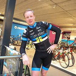 03-02-2017: Wielrennen: Teampresentatie Metec: Arnhem<br />ARNHEM (NED) wielrennen  <br />Thijmen Eising (Emmen) voor het derde jaar bij de Metec-TKH ploeg