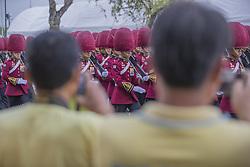 Parade to Royal Palace, Coronation of the King of Thailand, Rama X, His Majesty King Maha Vajiralongkorn Bodindradebayavarangkun, Bangkok, Tahaziland, Photo: Loic Baratoux For ABACAPRESS