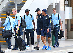 11818… The Manchester City team get the train to London on Saturday afternoon for the Arsenal match… Fernandinho, Kevin De Bruyne, Ederson, Gabriel Jesus and John Stones